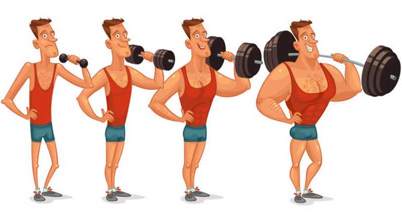 برنامه تمرینی آقایان با هدف افزایش حجم و وزن